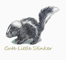 Baby Skunk  One Piece - Long Sleeve