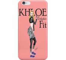 khloe kardashian & khloe-fit iPhone Case/Skin
