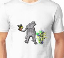 Ellie and the Butterfly Unisex T-Shirt