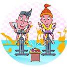 I Love Fitness by StudioDomingos