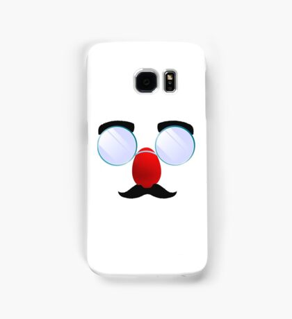Funny Glasses with a red nose. Samsung Galaxy Case/Skin