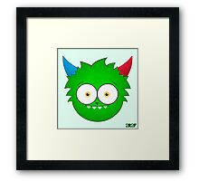 Quimbly - Iconic Framed Print