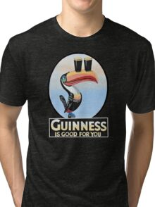 GUINNESS IS GOOD FOR YOU TOUCAN Tri-blend T-Shirt