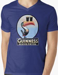 GUINNESS IS GOOD FOR YOU TOUCAN Mens V-Neck T-Shirt