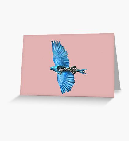 The Blue Bird Greeting Card