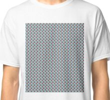 Kingfisher Pattern (Hand-Painted Effect) Classic T-Shirt