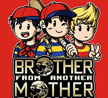 Another MOTHER Trio (Ness, Ninten & Lucas) by MartinIsAwesome