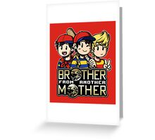 Another MOTHER Trio (Ness, Ninten & Lucas) Greeting Card