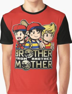 Another MOTHER Trio (Ness, Ninten & Lucas) Graphic T-Shirt
