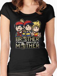 Another MOTHER Trio (Ness, Ninten & Lucas) Women's Fitted Scoop T-Shirt