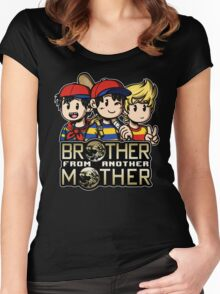 Another MOTHER Trio (Ness, Ninten & Lucas) Women's Fitted Scoop T-Shirt