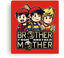 Another MOTHER Trio -alt- (Ness, Ninten & Lucas) Canvas Print