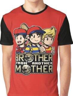 Another MOTHER Trio -alt- (Ness, Ninten & Lucas) Graphic T-Shirt