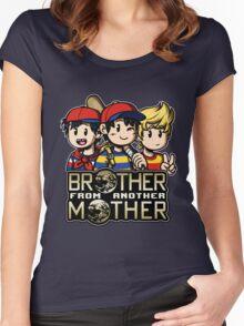 Another MOTHER Trio -alt- (Ness, Ninten & Lucas) Women's Fitted Scoop T-Shirt