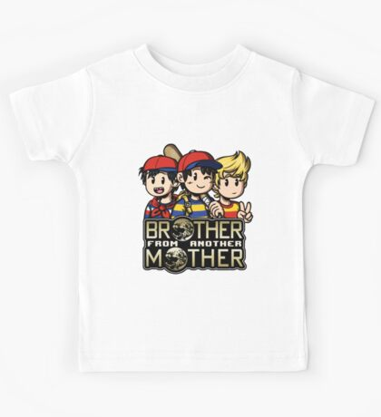 Another MOTHER Trio -alt- (Ness, Ninten & Lucas) Kids Tee