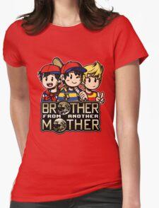 Another MOTHER Trio -alt- (Ness, Ninten & Lucas) Womens Fitted T-Shirt