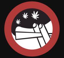 No Joint Smoking, Street Sign, Amsterdam, Netherlands Kids Tee