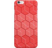 Hexagonal Cubic Pattern iPhone Case/Skin