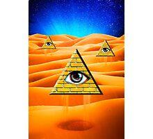 Desert Illuminati Photographic Print