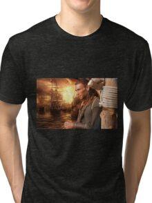 Captain Charles Vane Tri-blend T-Shirt