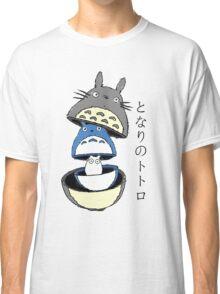 Totoro Kokeshi Classic T-Shirt