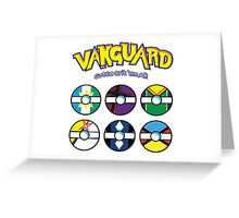 Cardfight Vanguard Balls Greeting Card