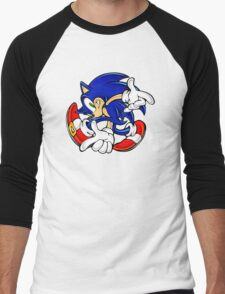 Sonic Men's Baseball ¾ T-Shirt