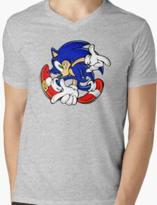 Sonic Mens V-Neck T-Shirt