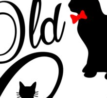 The Good Old Cats Brand Logotype Sticker
