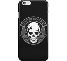 MGS - Outer Heaven Logo iPhone Case/Skin