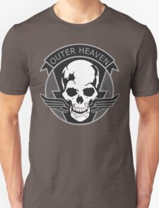 MGS - Outer Heaven Patch T-Shirt