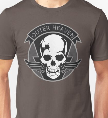 MGS - Outer Heaven Logo Unisex T-Shirt