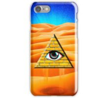 Desert Illuminati iPhone Case/Skin