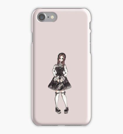 Old School Gothic Lolita iPhone Case/Skin