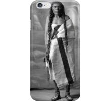 Howard King, Portrait of Cree Indian Warrior iPhone Case/Skin
