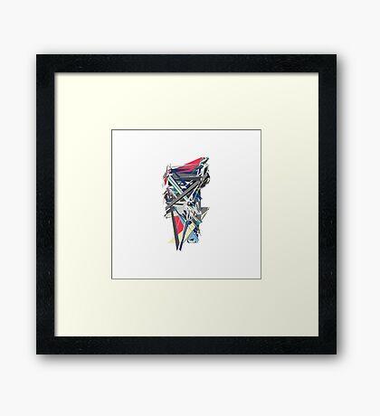 Modern Abstract Motor Art Framed Print