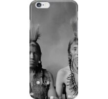 Howard King, Portrait of Cree Indians  iPhone Case/Skin