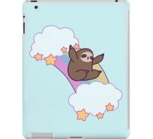 Rainbow Cloud Sloth iPad Case/Skin