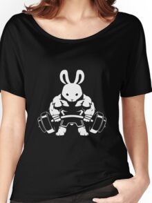 Not the average GYM BUNNY (no text) Women's Relaxed Fit T-Shirt