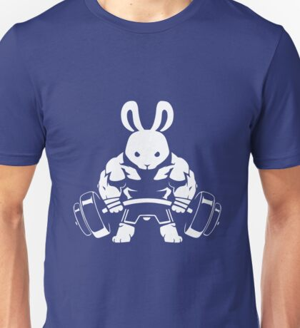 Not the average GYM BUNNY (no text) Unisex T-Shirt
