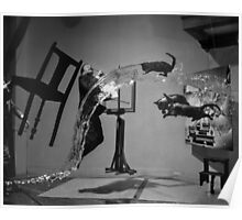 Dali Atomicus - by Philippe Halsman - Enhanced Poster