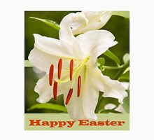 White Lily Easter Card Unisex T-Shirt