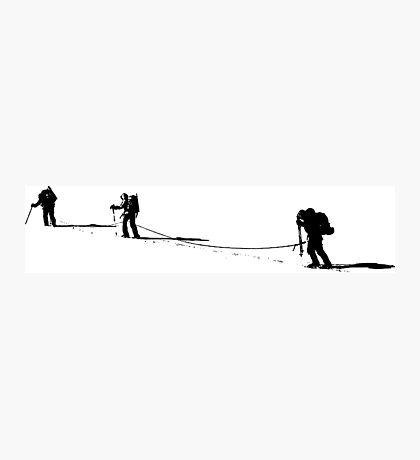 Mountaineering  Photographic Print