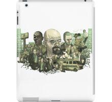 Breaking Bad all characters logo iPad Case/Skin