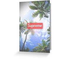 Supreme Palms Greeting Card