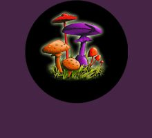 Mushrooms (Candy Colored) Unisex T-Shirt