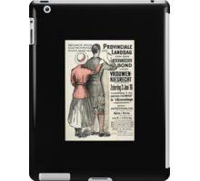 Netherlands Feminism iPad Case/Skin