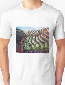Vineyard sunset Unisex T-Shirt