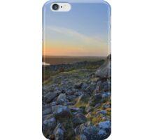 Cornwall: Showery Tor Sunset iPhone Case/Skin