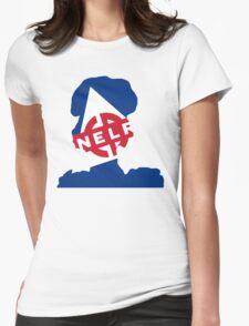 Retro Blast Womens Fitted T-Shirt